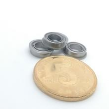 5mm bore flanged bearing SMF85ZZ 5x8x2.5 stainless flange bearings