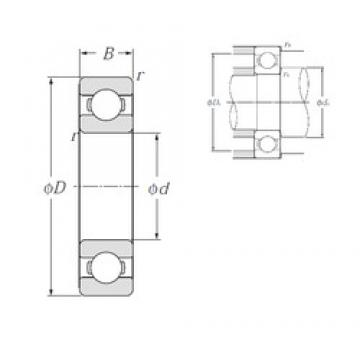 50 mm x 110 mm x 27 mm  JAPAN NTN 6310 LLU deep groove ball bearing NTN 6310 ZZ 2RS bearings size 50X110X27 mm