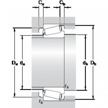 25 mm x 52 mm x 15 mm  SKF Tapered Rroller Bearing 30205 30206 30207 30209 SKF Bearing