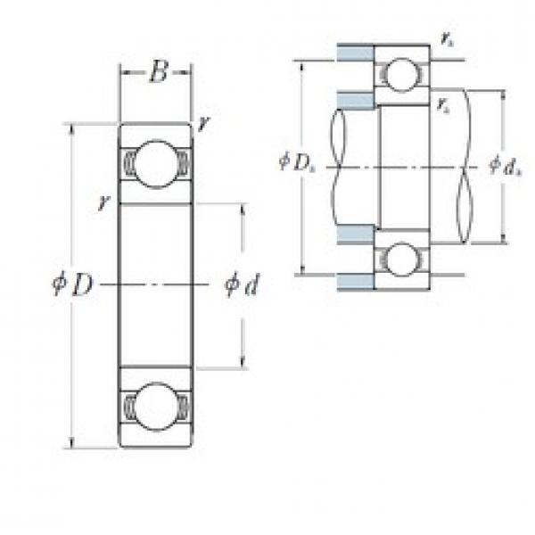 10 mm x 30 mm x 9 mm  NSK 6200 10x30x9 hybrid Si3N4 ceramic bearing 10x30x9mm #1 image